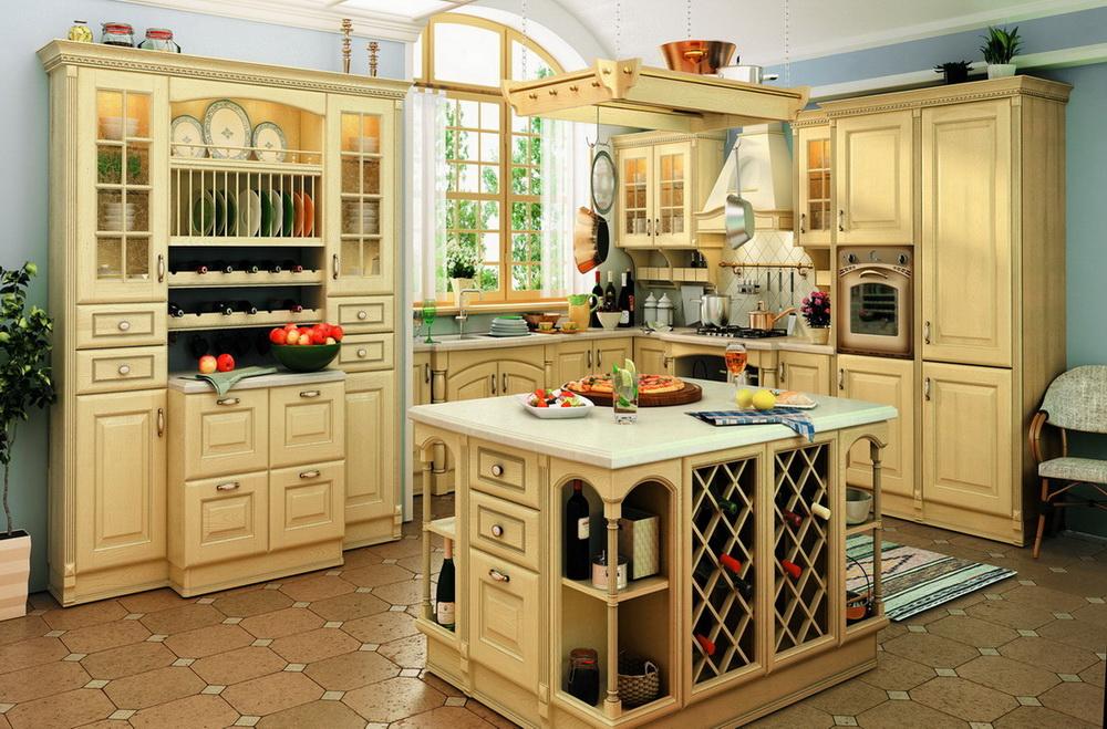 Классические кухни в интерьере фото